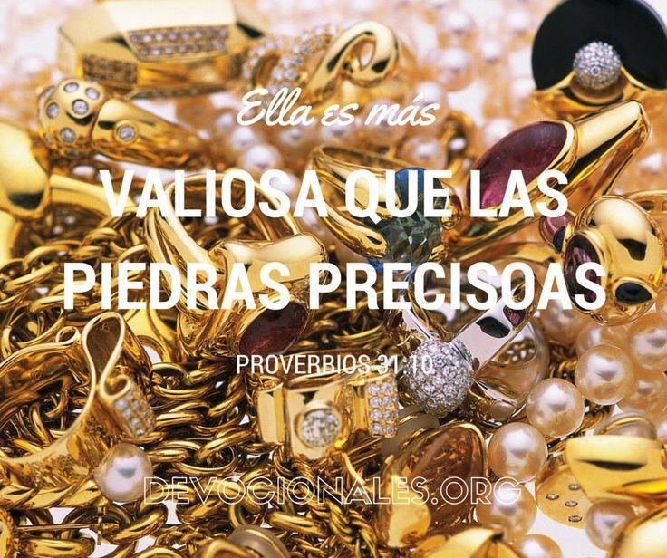 Proverbios 31:10 Su Valor Supera En Mucho Al De Las Joyas
