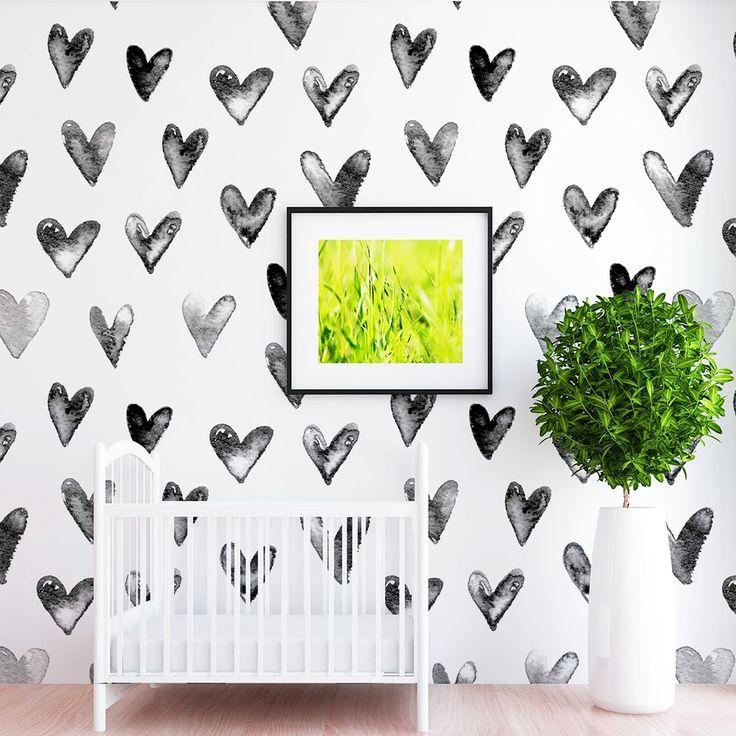Juniper Heart Wallpaper – Shop Project Nursery