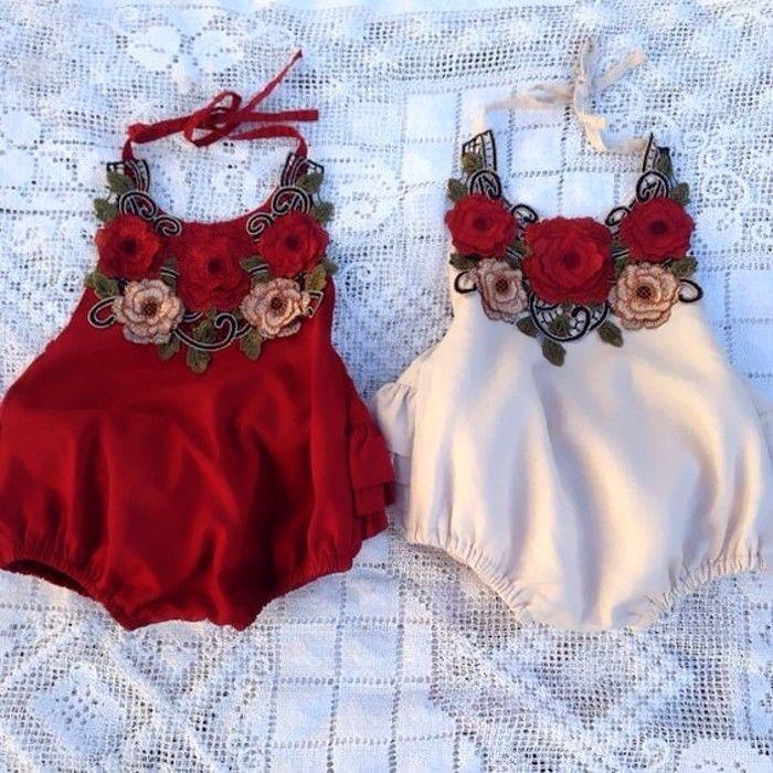 96a6001e7 7.29AUD - Newborn Infant Baby Girl Flower Halter Romper Jumpsuit One-Piece Sunsuit  Clothes #ebay #Home & Garden