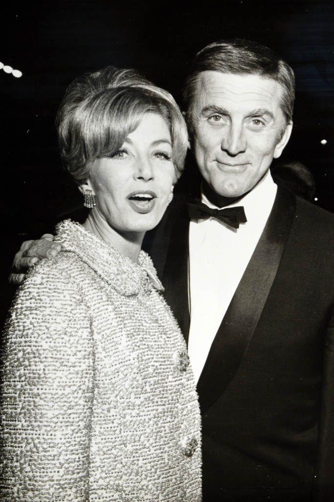 Kirk Douglas & Anne Buydens
