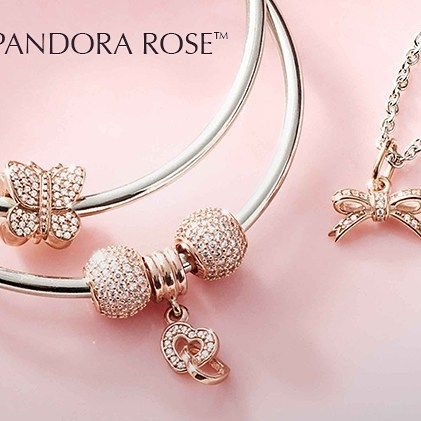 Style Your Pandora Rose  It's an unexpected twist on a classic, just like you.  #pandorarose #PANDORAcharm #PANDORAring #pandorabracelet