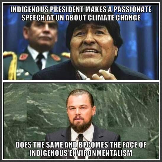 Evo Morales v. Leonardo DiCrapio