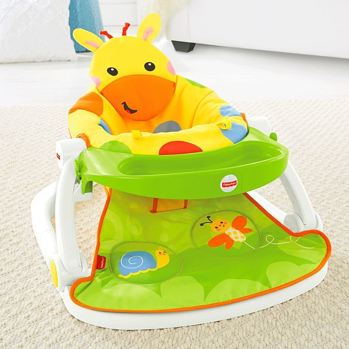 Image For Sit Me Up Floor Seat With Tray From Mattel Floor