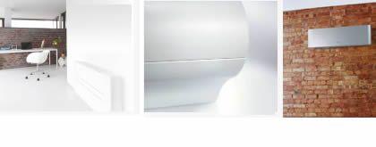 .I Monosplit (collegamento di una unità interna con una esterna) possono essere: a parete (es. Ururu Sarara, che controlla il livello di umidità e rinnova l'aria in ambiente), flexi type (unico per la sua flessibilità, emette costantemente aria pulita impedendo la formazione dei batteri), a pavimento (ottima distribuzione dell'aria con l'aggiunta della funzione autoswing, che evita stratificazioni dell'aria calda), canalizzabile (immissione durevole di aria pulita).