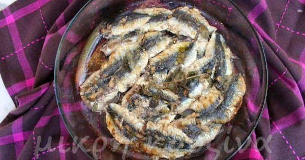 Σαρδέλες φούρνου με λαδολέμονο