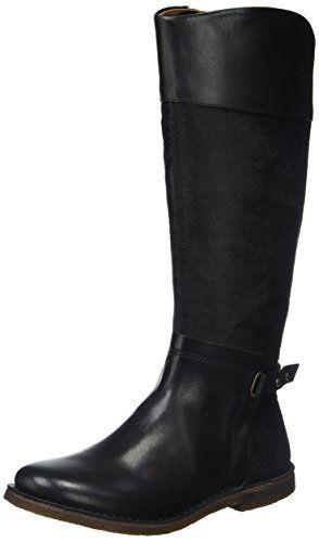 099992cd099d40 Kickers Crick Bottes Classiques Femme Noir 39 EU | Bottes en cuir ...