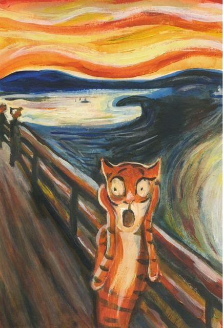 Elli Maanpää - Tigers in Art: Scream of Tiger 2010