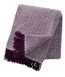 Klippan Lilac Tango Lambs Wool Throws