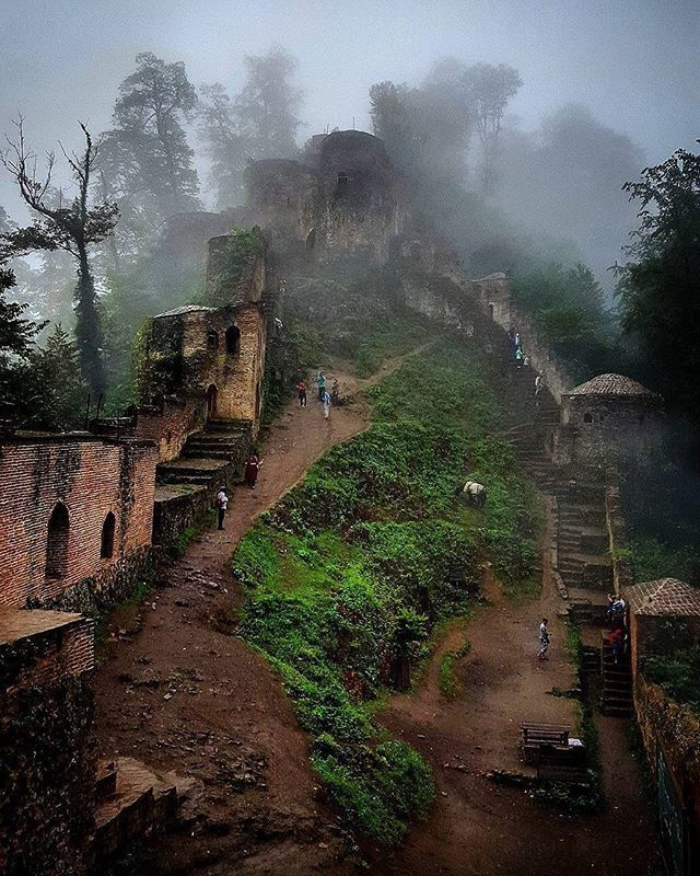 #Rudkhan #Castle #Foman #Gilan #Shomal #Northern #Iran  عکس از @zhaleh90