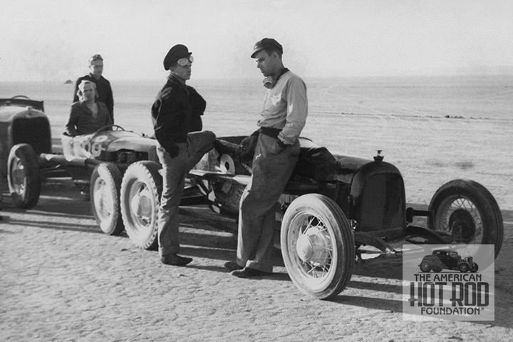 Muroc Dry Lake Back In 1940 Bill Baker Of The Idlers And His