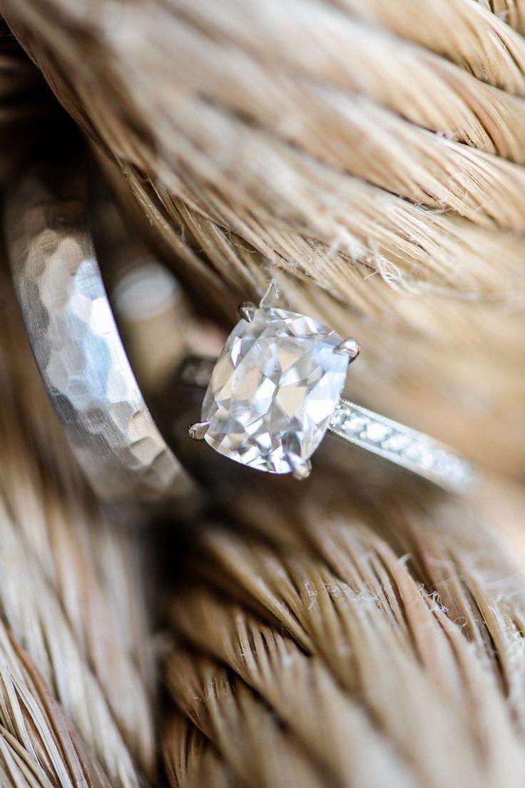 #Engagement Ring   On Style Me Pretty - http://www.StyleMePretty.com/rhode-island-weddings/watch-hill/2013/05/02/watch-hill-rhode-island-wedding-from-true-event-miles-witt-boyer/ Miles Witt Boyer Photography