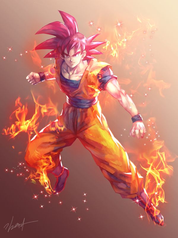 SSG Goku by GoddessMechanic2 on DeviantArt