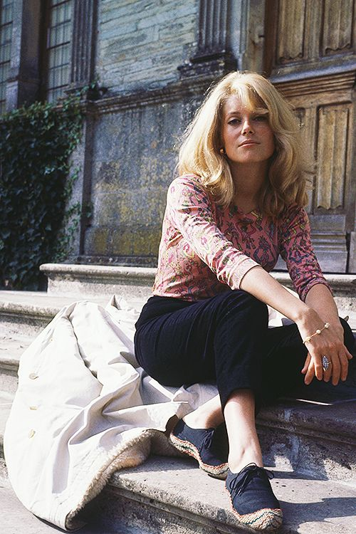 Catherine Deneuve, 1963. Photo by Paul Popper