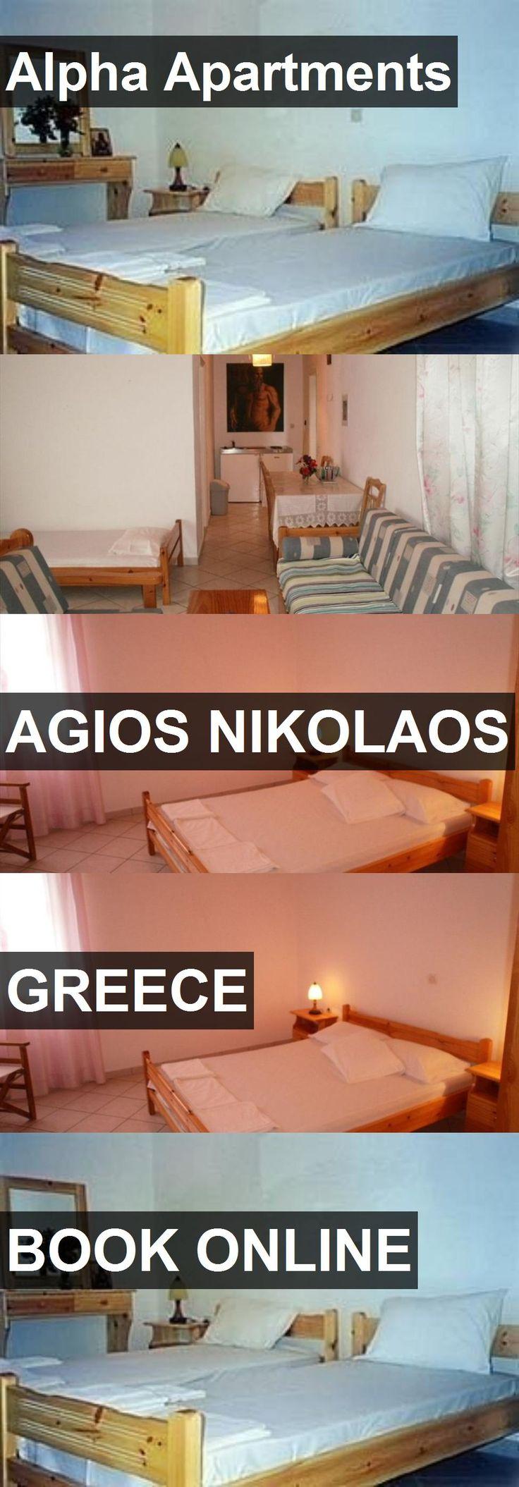 Alpha Apartments in Agios Nikolaos, Greece. For more information, photos, reviews and best prices please follow the link. #Greece #AgiosNikolaos #travel #vacation #apartment