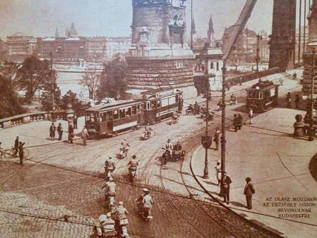 1929. Erzsébet híd.