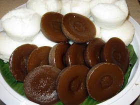 Kutsinta and Putong Calasiao Kutsinta Ingredients: 1 1/2 cup rice flour 1 1/2 cup brown sugar 2 cups water 1 tsp lye wa...