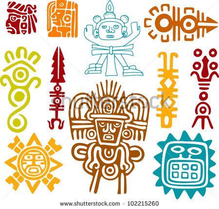 símbolos mayas - Buscar con Google