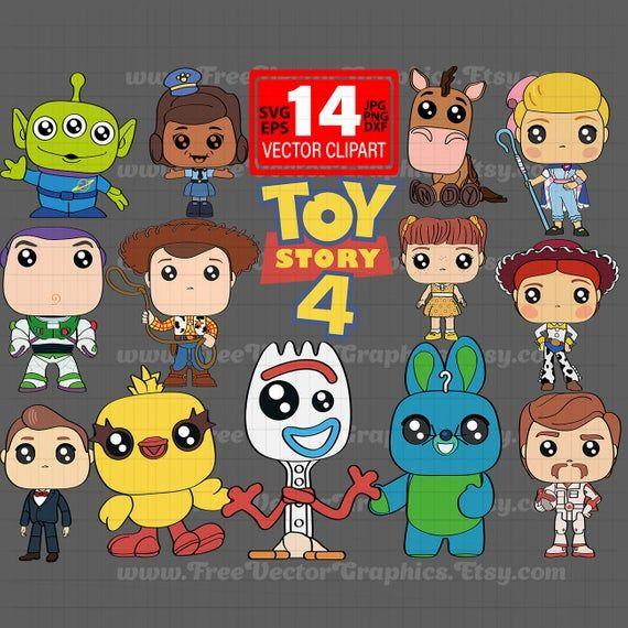 Nueva Historia De Juguete 4 Disney Pixar Dibujos Animados Svg 2019