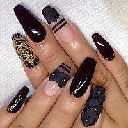 фото дизайн длинных ногтей
