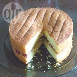 Wheat gluten free Victoria sponge cake @ allrecipes.co.uk