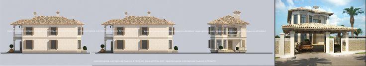 Готовый проект дома Одесса Архимас