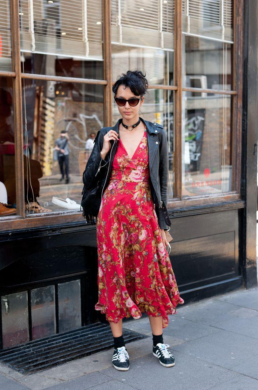 walnutwax shoots street style outside of graduate fashion week in London http://fashiongrunge.com/2016/06/21/streetstyle-london-graduate-fashion-week-walnutwax/