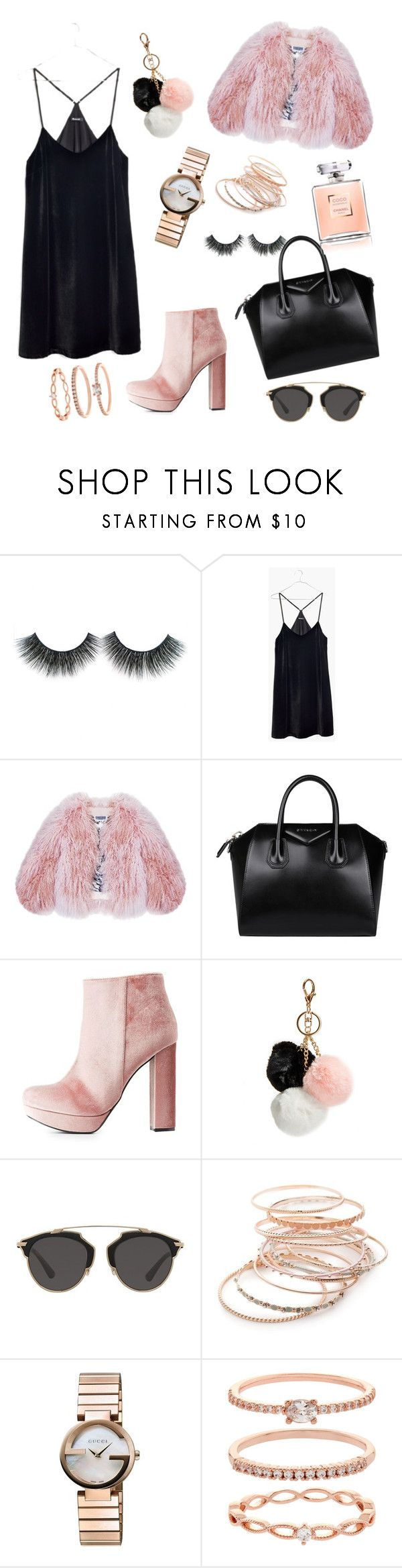 """Untitled #201"" by electraz on Polyvore featuring Madewell, Florence Bridge, Givenchy, Charlotte Russe, GUESS, Christian Dior, Red Camel, Gucci and Accessorize"