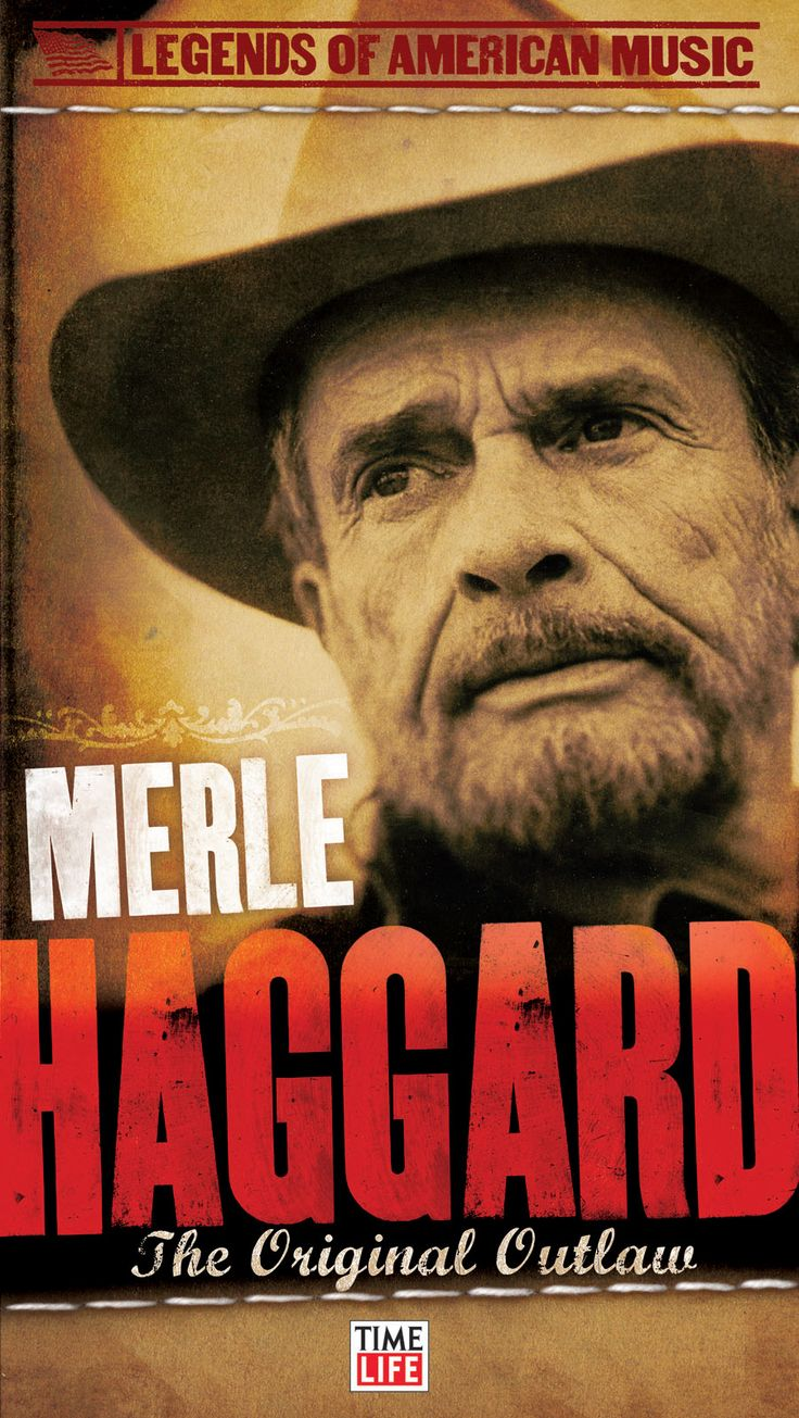 Merle Haggard. True country <3 Reminds me of when I was little...I didn't get traditional lullabies from my daddy I listened to Merle, Johnny, Hank, Waylon, George Jones, Willie and all my other Honky Tonk Heroes.