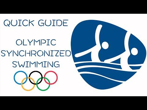 Guide to synchronized swimming at the summer Olympics. From olympic.org