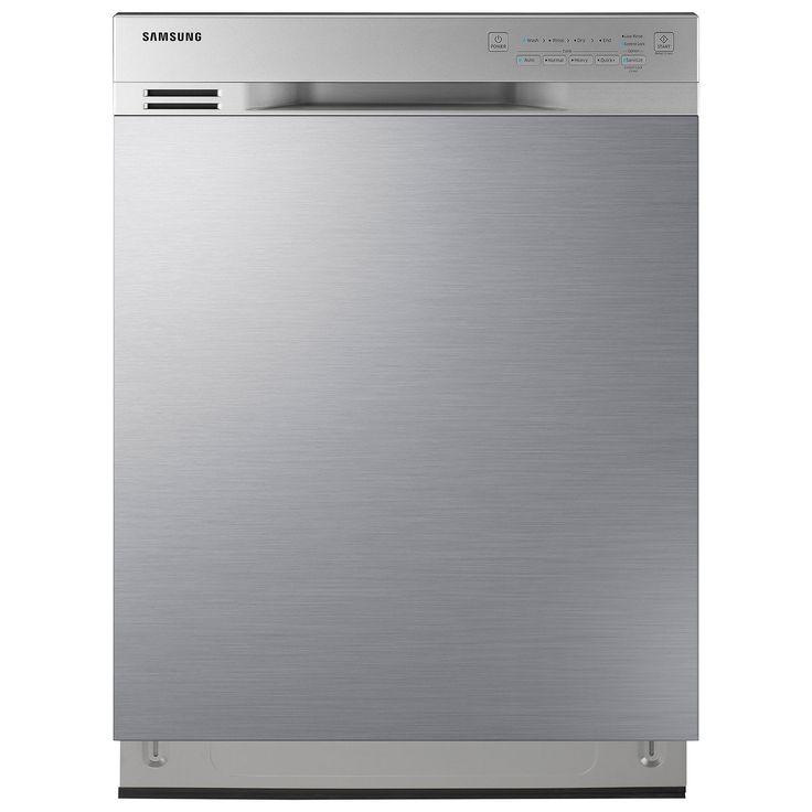 Lave-vaisselle encastrable grande capacité 24 po 50 dB avec cuve inox Samsung (DW80J3020US) - Inox : Lave-vaisselle - Best Buy Canada