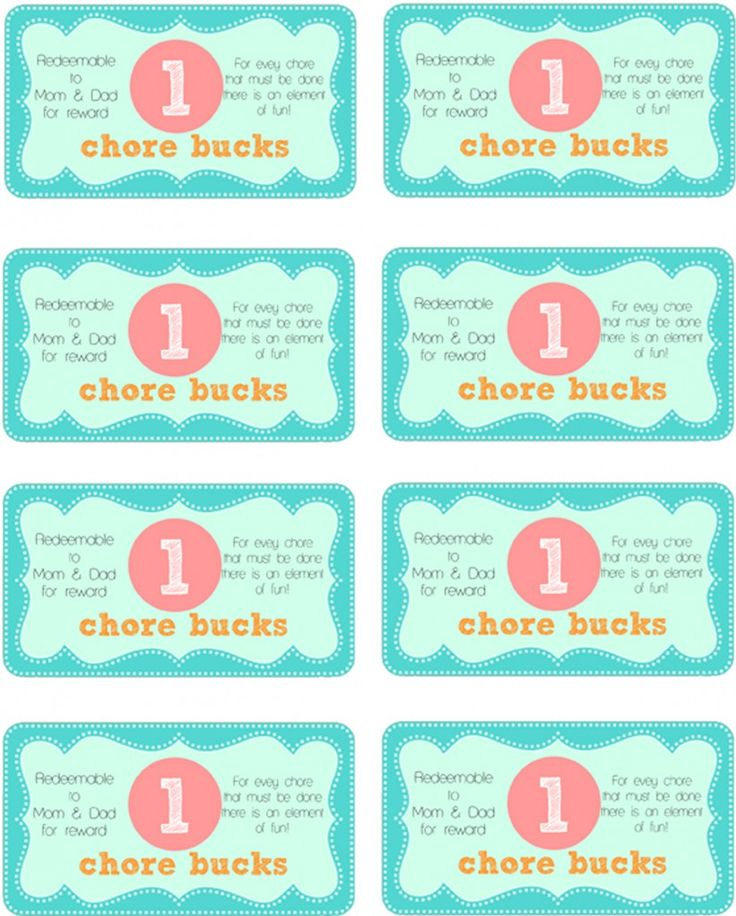 mother-runners & summer chore printable templates to help ...