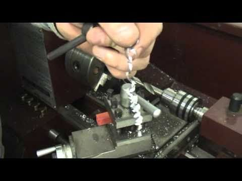 Making hollow points on cast lee slugs using the lathe