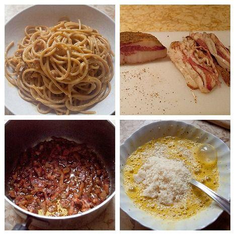 Spaghetti alla Carbonara   La Cucina Italiana - De Italiaanse Keuken - The Italian Kitchen   Scoop.it