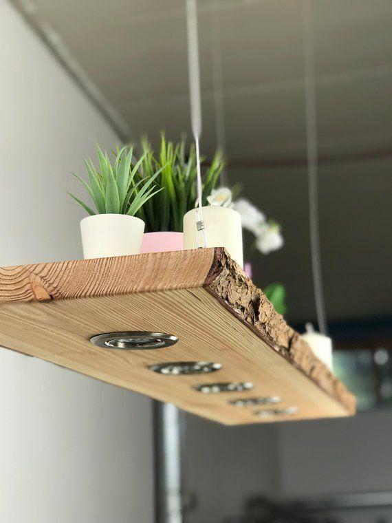 Hölzerne Hängelampe Lärche  # DIY Lampen