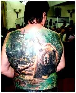 the-big-Bear-Tattoo-Design-and-meaning-for-men-on-back | Tattoo Design ... Tattoo 1