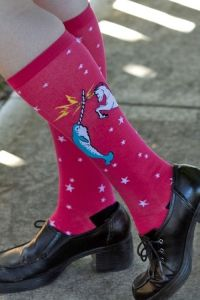 Today's Sock Journal marks the start of Dreamer Lucy's new series on socks for different types of nerds! This edition hits three classic nerd genres - sci-fi, fantasy, and horror.
