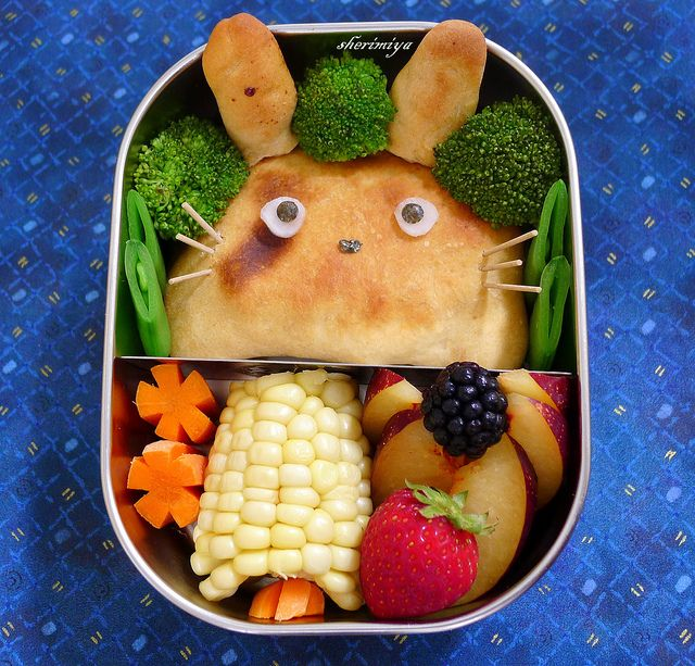 Totoro Calzone Bento Lunch