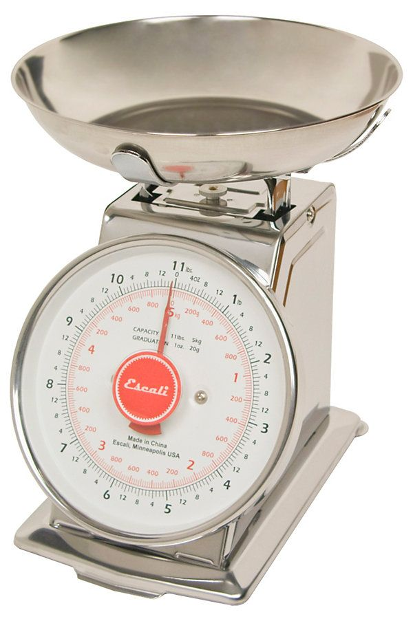 One Kings Lane - The Spoiled Chef - Mercado Retro Scale w/ Bowl Top, 11 lb....next level baking requires a scale.