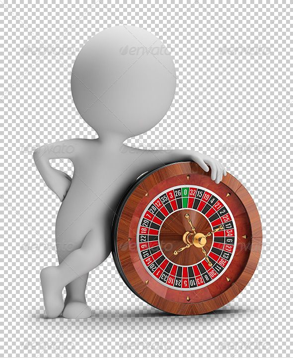 3d small people - roulette