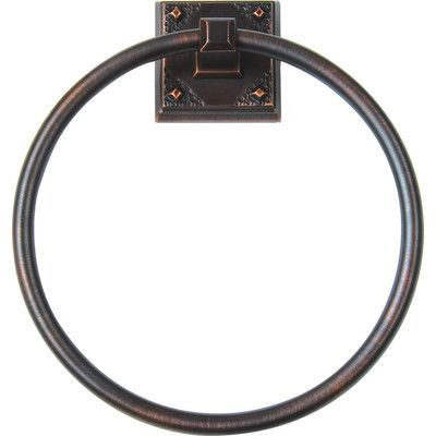 Atlas Homewares American Arts and Crafts Wall Mounted Towel Ring