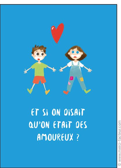 http://www.merci-facteur.com/carte-coeur.html #carte #StValentin #amour #love #Valentinsday #iloveyou #coeur #SanValentin #amor #Jetaime #Tequiero Carte Et si on disait qu'on �tait amoureux pour envoyer par La Poste, sur Merci-Facteur !