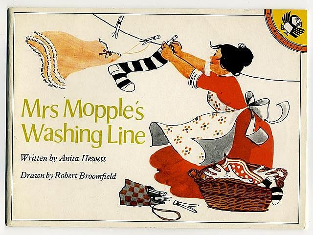 Mrs Mopple's Washing Line by Anita Hewett and Robert Broomfield.