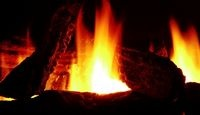If you'd rather DIY: How to Make Fake Fire | eHow.com or http://www.thriftyfun.com/tf81180240.tip.html