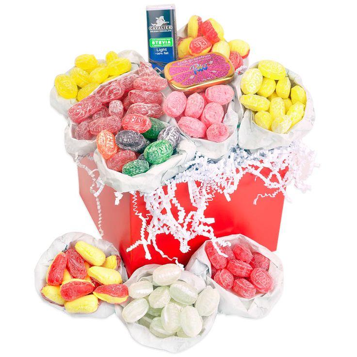 Sugar free sweet hamper. Birthday idea for Dad?
