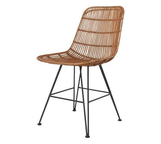 HK Living :: Krzesło rattanowe naturalne