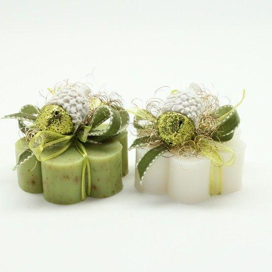 Sapone Decorato Ghianda Verde - Saponi - Prodotti