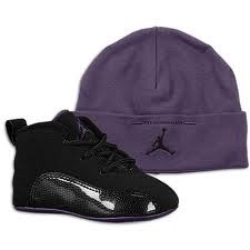 Baby Jordan shoes with hat:)