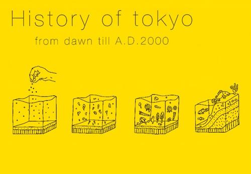 Japanese Designer Illustrates Complete History Of Tokyo - DesignTAXI.com