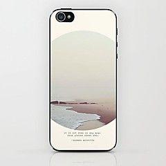 Bakside Dekke - iPhone 5/iPhone 5S - Grafisk/Blandet Farge (... – NOK kr. 17