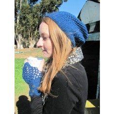 Clari Crochet Sloppy Beanie and Gloves